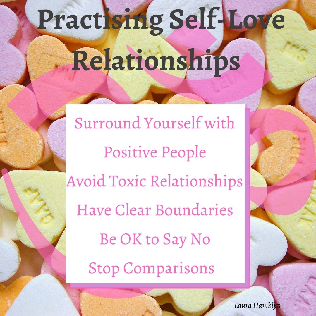 Surround Yourself with Positive People Avoid Toxic Relationships Have Clear Boundaries Be OK to Say No Stop Comparisons – Appreciate your Uniqueness
