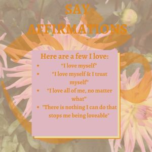Say affirmations