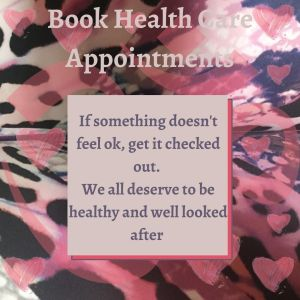 Book health care appointments