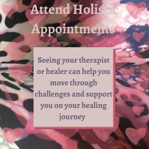 Attend holistic appointments