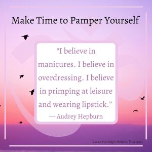 """""""I believe in manicures. I believe in overdressing. I believe in primping at leisure and wearing lipstick."""" — Audrey Hepburn"""