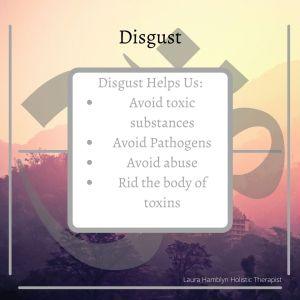 disgust helps us