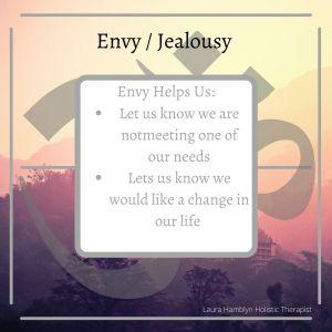 Envy / jealousy