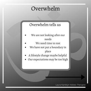 overwhelm tells us
