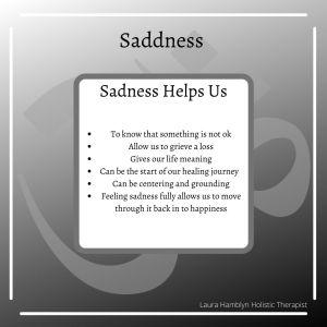 sadness helps us