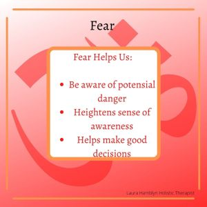 fear helps us